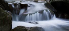 Ottenere l'effetto velato dell'acqua in movimento