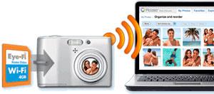 Google PIcasa web regala una scheda Eye-fi da 4GB
