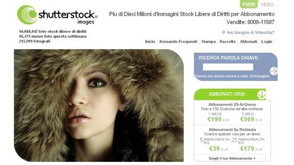 Homepage Shutterstock