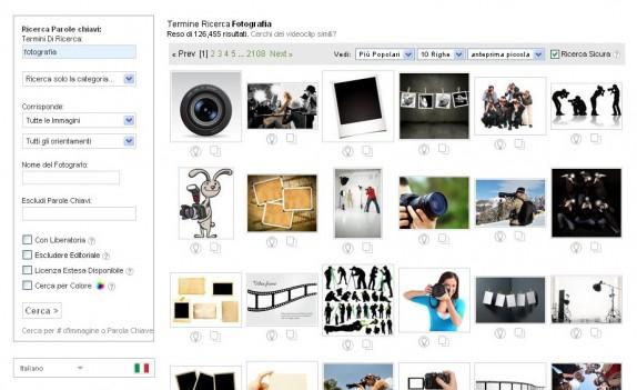 Ricerca Immagini Shutterstock