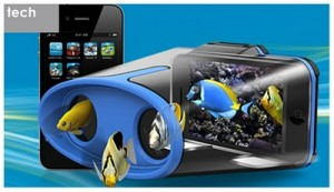 Immagini in 3d sull'iphone