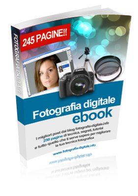 Acquista l'ebook di fotografia digitale