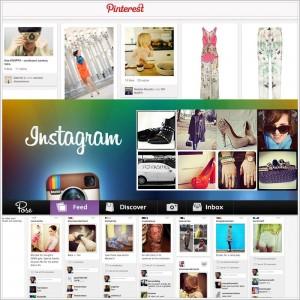 instagram-pinterest: fotografia su internet