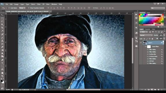 photoshop dipinto
