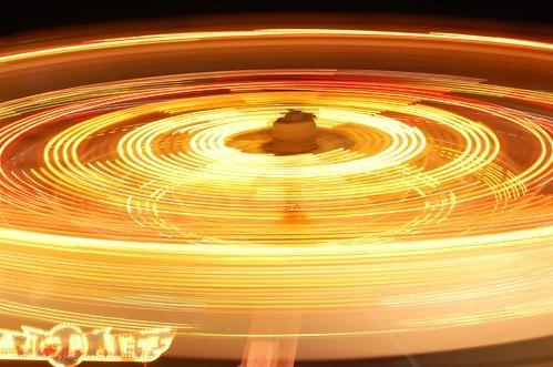 Effetto movimento in fotografia - ruota panoramica